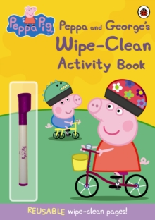 Peppa Pig: Peppa and George's Wipe-clean Activity Book, Paperback