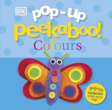 Pop-Up Peekaboo! Colours, Board book