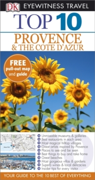 DK Eyewitness Top 10 Travel Guide: Provence & the Cote d'Azur, Paperback