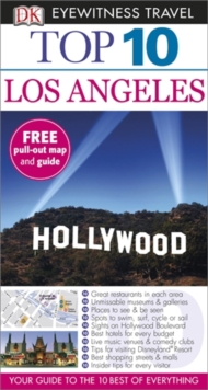 DK Eyewitness Top 10 Travel Guide: Los Angeles, Paperback