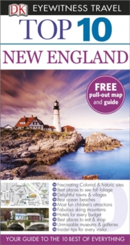 DK Eyewitness Top 10 Travel Guide: New England, Paperback