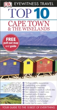 DK Eyewitness Top 10 Travel Guide: Cape Town and the Winelands, Paperback Book