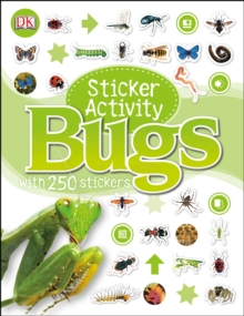 Sticker Activity Bugs, Paperback