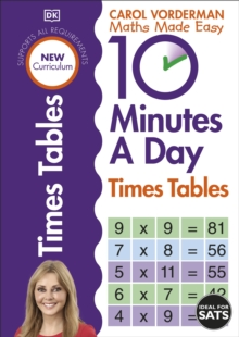 10 Minutes a Day Times Table, Paperback