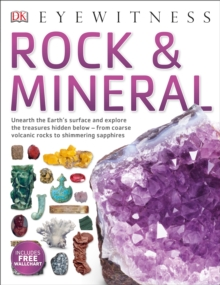 Dk Eyewitness: Rock And Mineral, Paperback Book