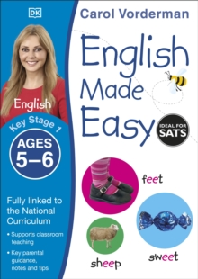 English Made Easy Ages 5-6 Key Stage 1 : Ages 5-6 Key stage 1, Paperback Book