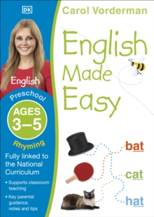 English Made Easy Rhyming Preschool Ages 3-5 : Ages 3-5 preschool, Paperback Book