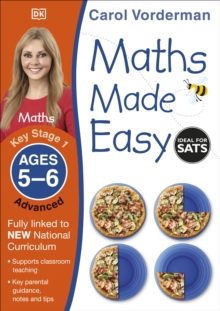Maths Made Easy Ages 5-6 Key Stage 1 Advanced, Paperback