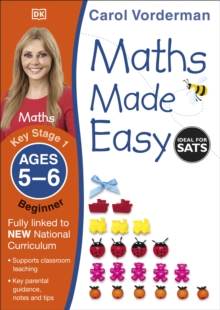 Maths Made Easy Ages 5-6 Key Stage 1 Beginner, Paperback Book