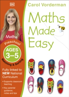 Maths Made Easy Matching And Sorting Preschool Ages 3-5 : Preschool ages 3-5, Paperback
