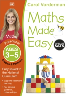 Maths Made Easy Shapes And Patterns Preschool Ages 3-5 : Preschool ages 3-5, Paperback