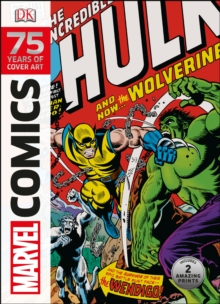 Marvel Comics 75 Years Of Cover Art, Hardback