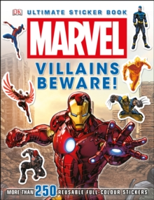 Marvel Villains Beware Ultimate Sticker Book!, Paperback