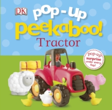 Pop-up Peekaboo Tractor, Board book