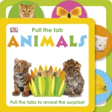 Animals: Pull The Tab, Board book Book
