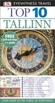 DK Eyewitness Top 10 Travel Guide: Tallinn, Paperback
