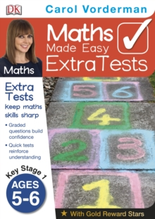 Maths Made Easy Extra Tests Age 5-6, Paperback