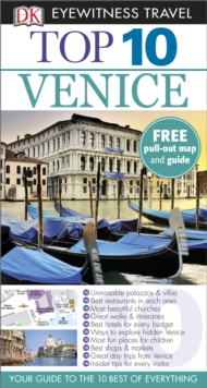 DK Eyewitness Top 10 Travel Guide: Venice, Paperback