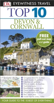 DK Eyewitness Top 10 Travel Guide: Devon & Cornwall, Paperback