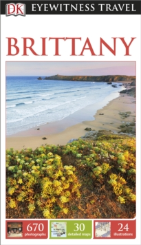 DK Eyewitness Travel Guide: Brittany, Paperback