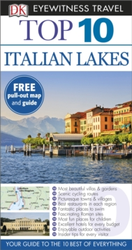 DK Eyewitness Top 10 Travel Guide: Italian Lakes, Paperback Book