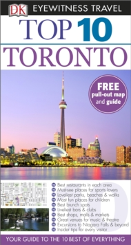 DK Eyewitness Top 10 Travel Guide: Toronto, Paperback