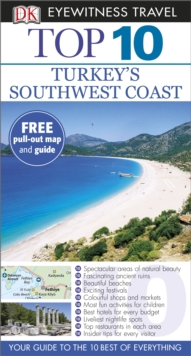 DK Eyewitness Top 10 Travel Guide: Turkey's Southwest Coast, Paperback