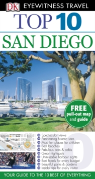 DK Eyewitness Top 10 Travel Guide: San Diego, Paperback Book