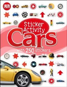 Sticker Activity Cars, Paperback