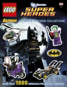 LEGO Batman Ultimate Sticker Collection LEGO DC Universe Super Heroes, Paperback