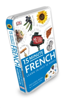 15-Minute French, Mixed media product