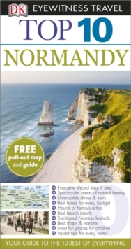 DK Eyewitness Top 10 Travel Guide: Normandy, Paperback