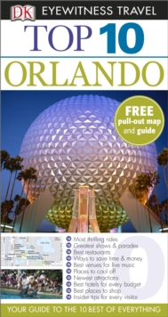 DK Eyewitness Top 10 Travel Guide: Orlando, Paperback