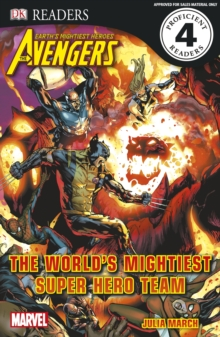 Marvel Avengers The World's Mightiest Super Hero Team, Paperback Book