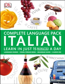 Complete Language Pack Italian : Learn in Just 15 Minutes a Day, Multiple-item retail product Book