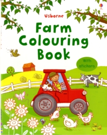 Farm Colouring Book with Stickers, Paperback