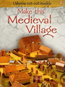 Make This Medieval Village, Paperback Book