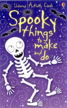 50 Spooky Things to Make and Do, Cards Book