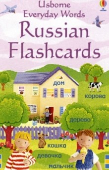 Everyday Words Flashcards: Russian, Cards