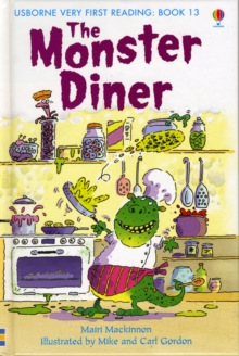 The Monster Diner, Hardback