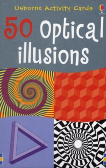 50 Optical Illusions, Novelty book Book