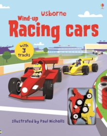 Wind-up Racing Cars, Board book Book