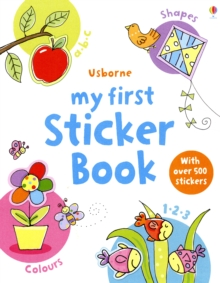 My First Sticker Book, Paperback