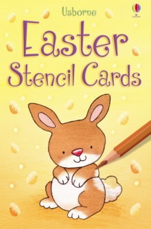 Easter Stencil Cards, Cards Book