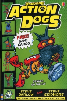 Action Dogs 3: Danger on the Ice, Paperback Book