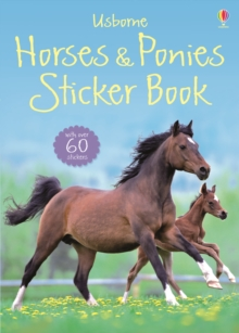 Horses and Ponies Sticker Book, Paperback