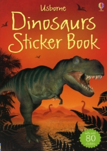 Dinosaurs Sticker Book, Paperback