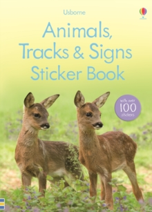 Animal Tracks and Signs Sticker Book, Paperback