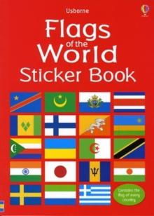 Flags of the World Sticker Book, Paperback Book