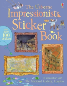 Impressionists Sticker Book, Paperback